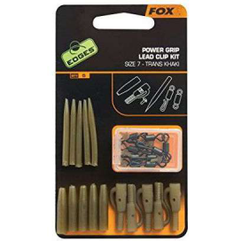 Fox Edges Power Grip Lead Clip Kit 5ks