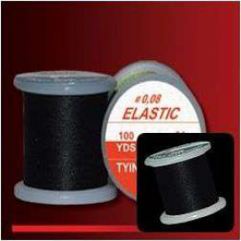 Hends vázací nit Elastic - VNE 201 - 0,08mm 91m černá