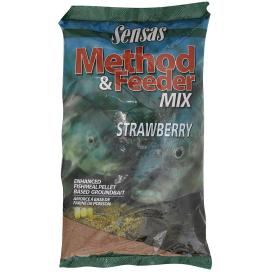 Krmení Method Feeder Strawberry (jahoda) 1kg