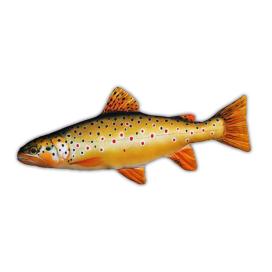 Gaby Polštář plyšová ryba pstruh obecný - duhový 62cm