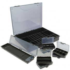 NGT Organizér Deluxe Storage Box 7+1 Black