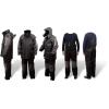 Quantum Kids 164 Zimní oblek černá/šedá