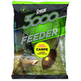 Sensas krmítková směs 3000 method mix carp sweet fishmeal 1kg