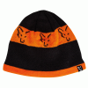 Fox čepice Black & Orange Beanie